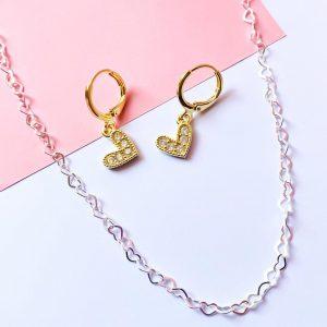 Argollas Corazón Gold