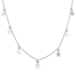 Collar Estrellas de Plata