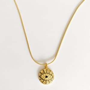 Amuleto Ojo Dorado